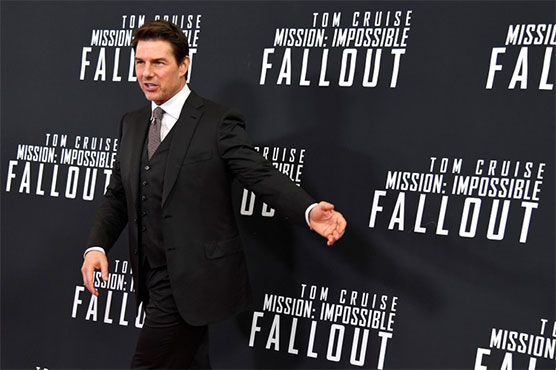 Mission Impossible- Fallout clung for a second week to the top spot in North American theaters
