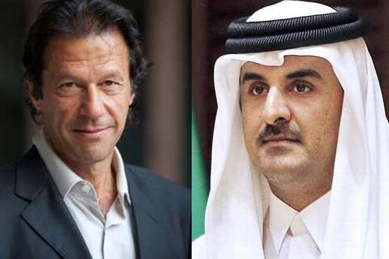 Qatar emir invites PM-in-waiting Imran Khan for visit