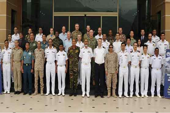 Pakistan Navy hosts IPC of Exercise AMAN-19
