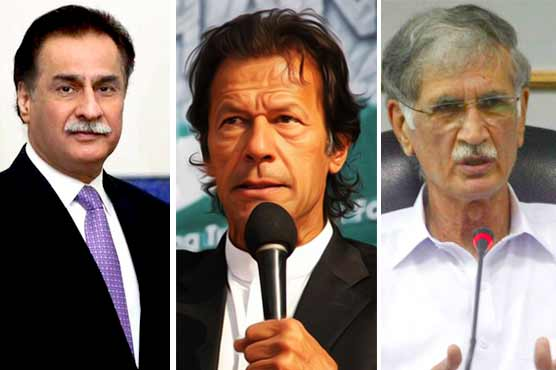 ECP accepts apology of Imran, Ayaz, Pervez in offensive language case