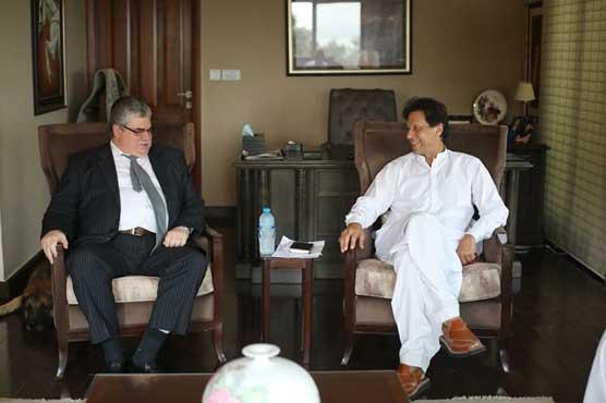 Russian envoy calls on Imran Khan