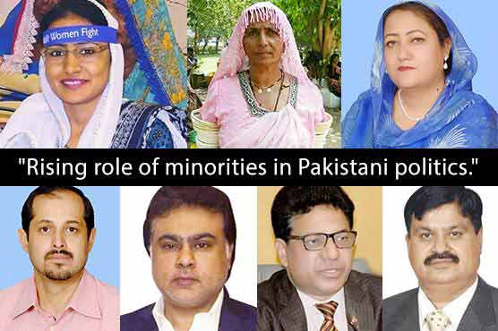 Prominent members of minorities and their role in Pakistani politics