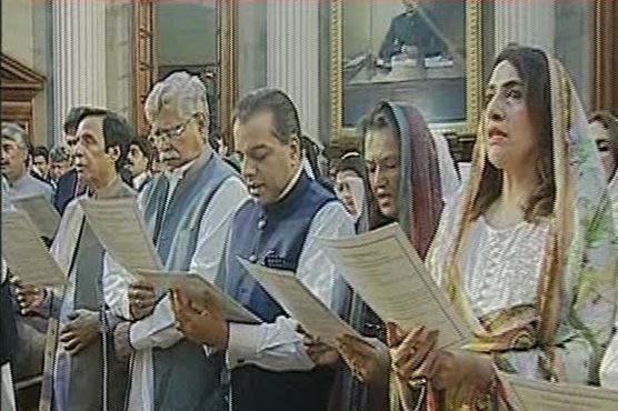New MPAs in Punjab Assembly take oath