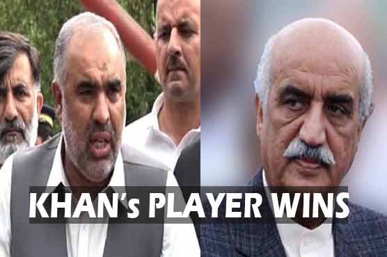 Player of Kaptaan wins: Asad Qaisar defeats Khurshid Shah