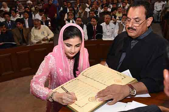PML-N's Sania becomes youngest MPA in Punjab Assembly