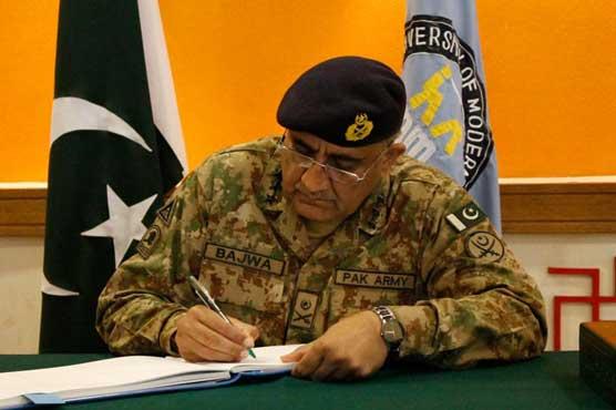 Army chief confirms death sentences of 15 terrorists