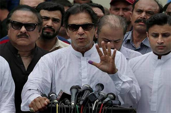 PTI chief Imran Khan has directed to stage the oath-taking event in simple manner