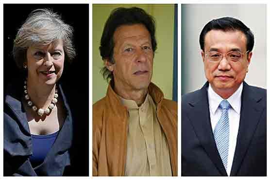 British, Chinese premiers congratulate PM-elect Imran Khan