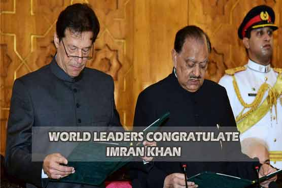 International leaders congratulate Imran Khan on becoming Prime Minister