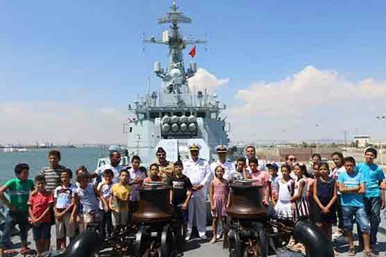 Pakistan Navy ship ASLAT visits port of Tunisia