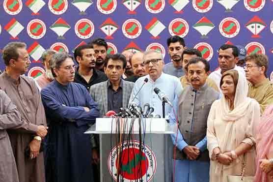 MQM-P announces support for Arif Alvi in presidential polls