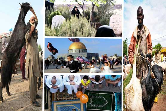 In Pictures: Different shades of Eid-ul-Azha across the