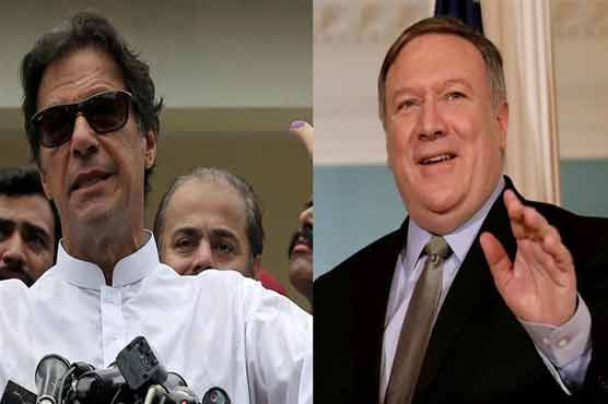 Pakistan disputes U.S. account of call between Pompeo and new PM Khan