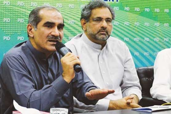 PML-N's Saad, Abbasi submit nomination papers for by-polls