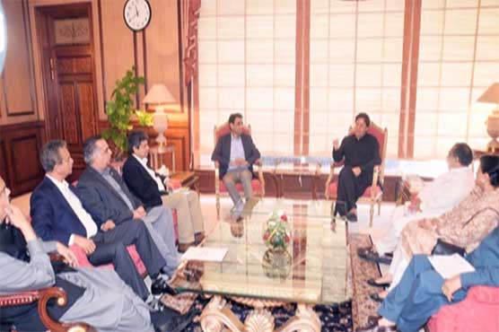 MQM delegation meets PM; discusses presidential election, problems of masses