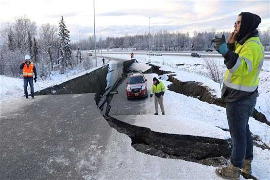 Quake  rocks Anchorage, but no tsunami warning for B.C.