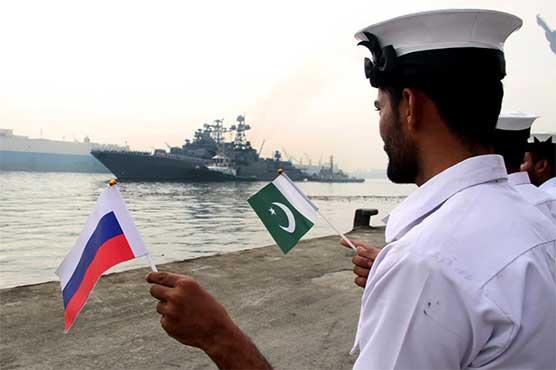 Pakistan, Russian navies conduct bilateral exercise