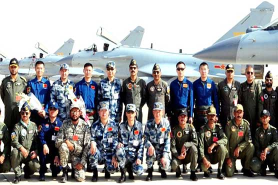 Pakistani, Chinese Air Forces start Joint International Air Drill