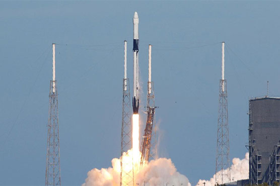 SpaceX on Wednesday blasted off its unmanned Dragon cargo ship
