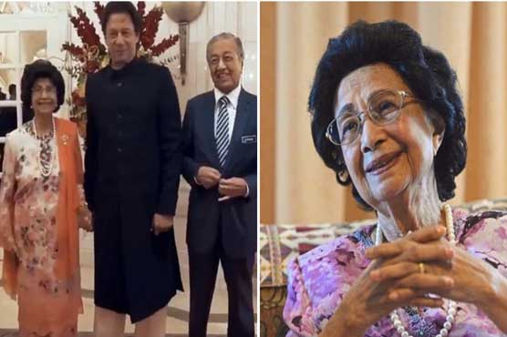 Malaysian first lady reveals why she held hand of PM Imran