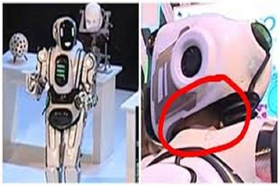 'Hi-tech robot' in Russian Federation turns out to be man in suit