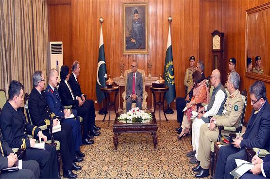 President for enhanced Pak-Turkey defence, trade relations