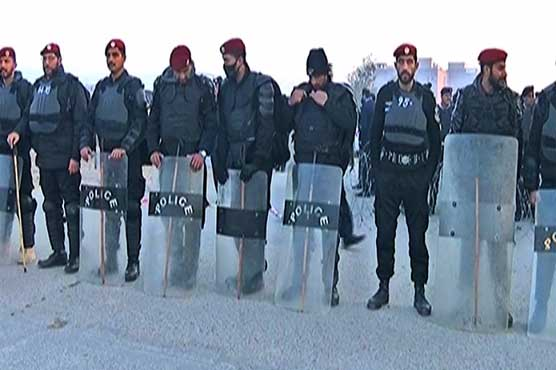 Islamabad: Security beefed up ahead of verdicts in NAB references against Nawaz Sharif
