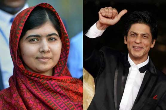 """Malala conveys special message to Shahrukh Khan after watching """"Zero"""""""