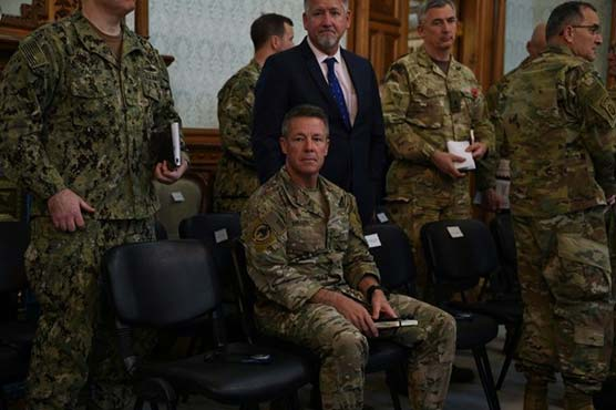 Top US commander in Afghanistan says no orders to pull out