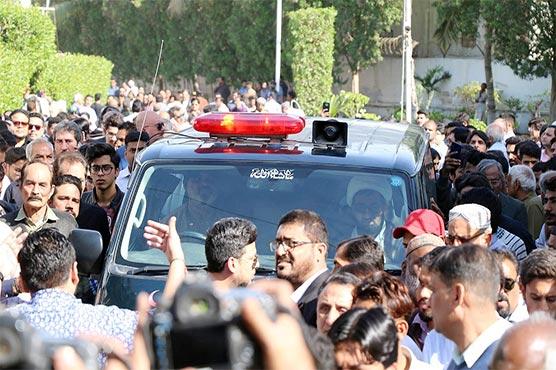 Ali Raza Abidi laid to rest amid tight security in Karachi