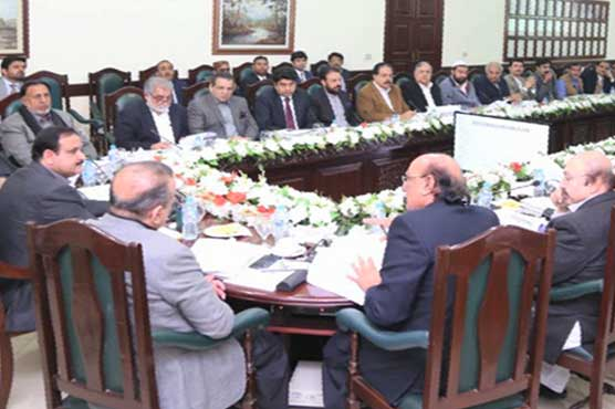 Taking steps for improvement of underdeveloped areas, CM Buzdar tells Punjab cabinet