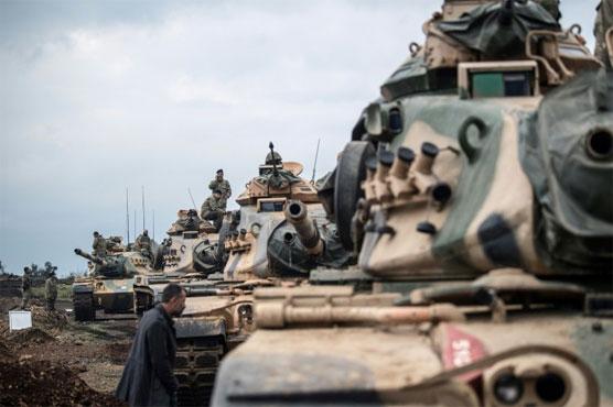 Turkey ramps up Syria incursion despite criticism