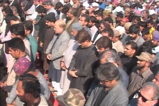 Mir Hazar Khan Bijarani, wife laid to rest after funeral prayer