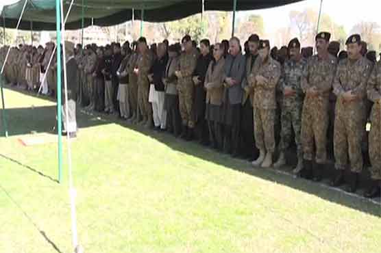 Swat attack: Army Chief attends joint funeral prayer of 11 martyrs