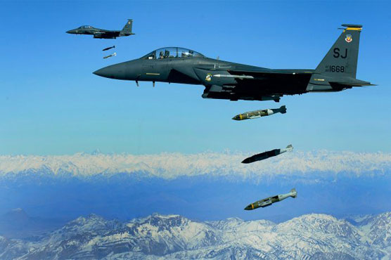 US launches new air attacks against Taliban
