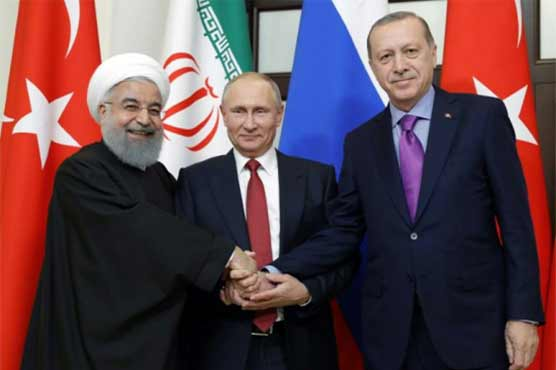 Turkey says to host Syria summit with Russia, Iran