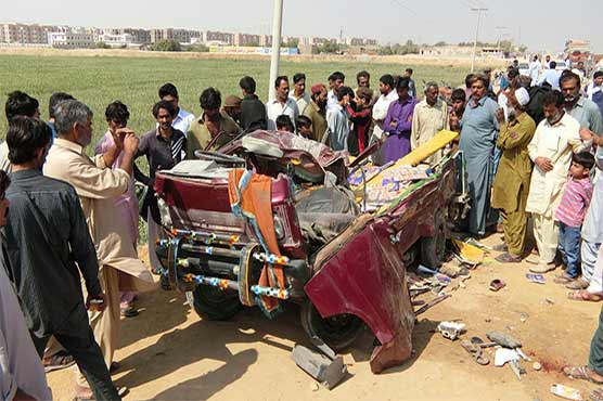 Ten persons killed in Hyderabad road accident