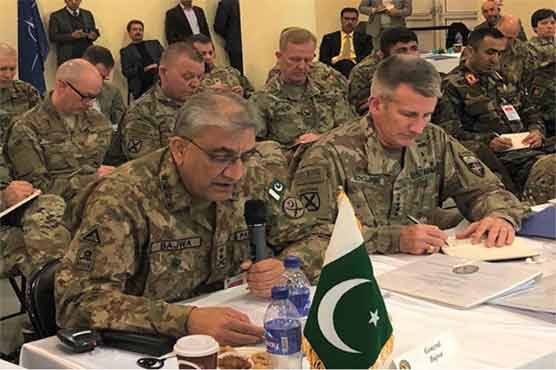 Path to regional peace passes through Afghanistan, affirms COAS Bajwa in Kabul