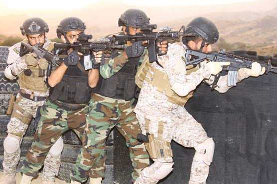 First phase of Joint Maritime Special Operation Forces exercise Aff'aa Al Sahil concludes