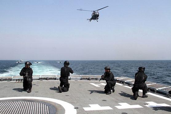 Pak-Saudi joint naval exercise Affa Al Sahil IV concludes