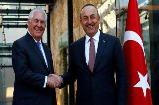Turkey, US to 'work together' in Syria after crisis