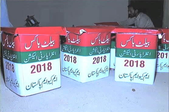 Intra-party elections of MQM-P to be held today