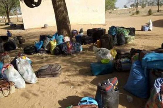 Scores of girls 'missing' after Boko Haram Nigeria school attack