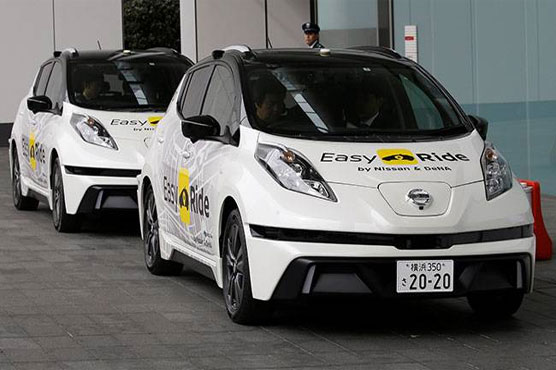Nissan and DeNA begin trials for robo-taxis in Japan