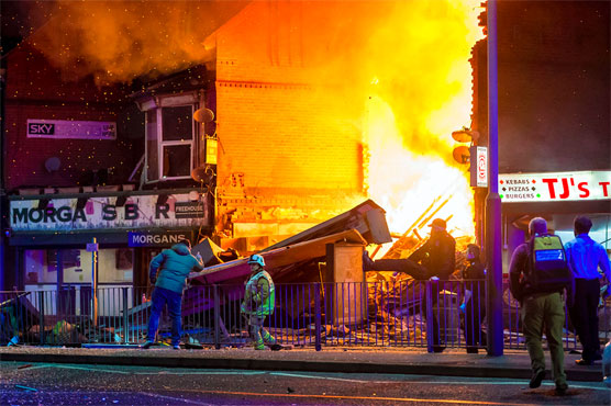 Four killed in building fire in central English city