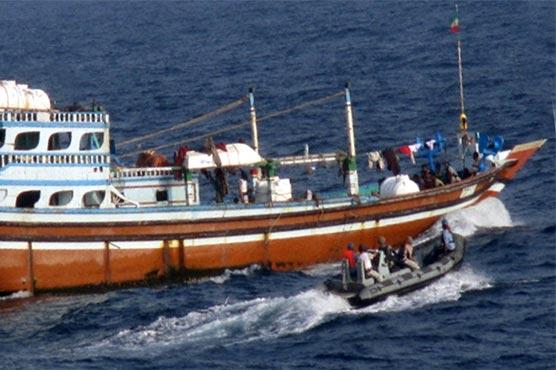 Pak Navy ship Shamsheer provides medical assistance to Iranian dhow