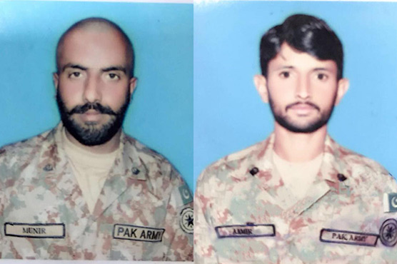 Pakistan soldiers killed in firing