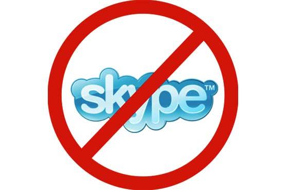 Telecommunication app Skype blocked in UAE