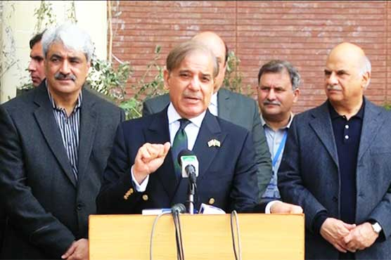 Shehbaz Sharif responds angrily to opposition's NRO accusations