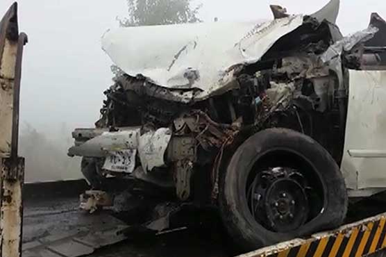 Three people killed, four injured in fog-related accident in Sukhekhi